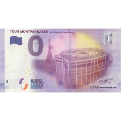 Euro banknote memory - 75 - Tour Montparnasse - 2016-1