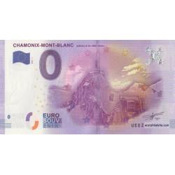 Euro banknote memory - 74 - Chamonix-Mont-Blanc - Aiguille du midi 3842m - 2016