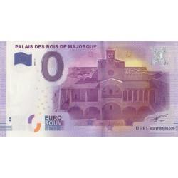 Euro banknote memory - 66 - Palais des rois de Majorque - 2016-1