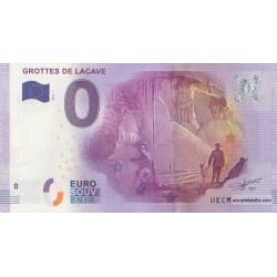 Euro banknote memory - 46 - Grottes de Lacave - 2016