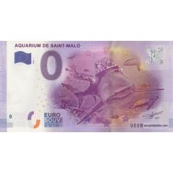 Euro banknote memory - 35 - Aquarium de Saint-Malo - 2016-1