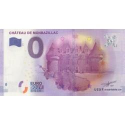 Billet souvenir - Château de Monbazillac - 2016