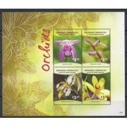 Grenade - 2015- No 4182/4185 - orchidées