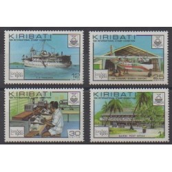 Kiribati - 1980 - No 28a/31a - Service postal - Philatélie