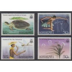 Kiribati - 1984 - Nb 126/129