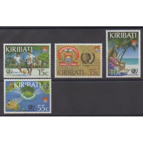 Kiribati - 1985 - No 138/141 - Enfance