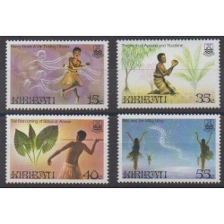 Kiribati - 1985 - Nb 142/145