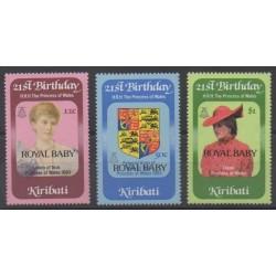 Kiribati - 1982 - Nb 85/87 - Royalty