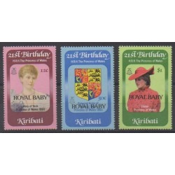 Kiribati - 1982 - No 85/87 - Royauté - Principauté