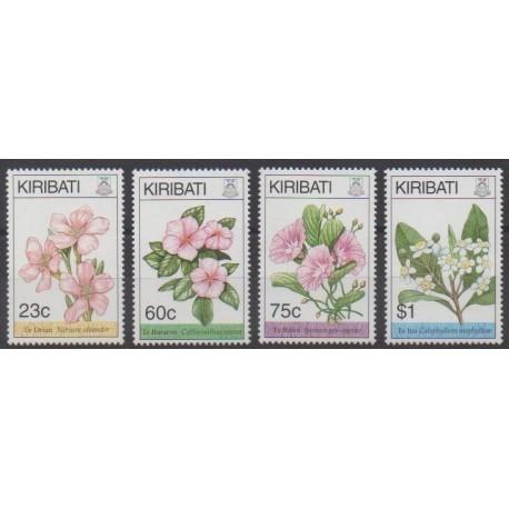 Kiribati - 1994 - Nb 341/344 - Flowers