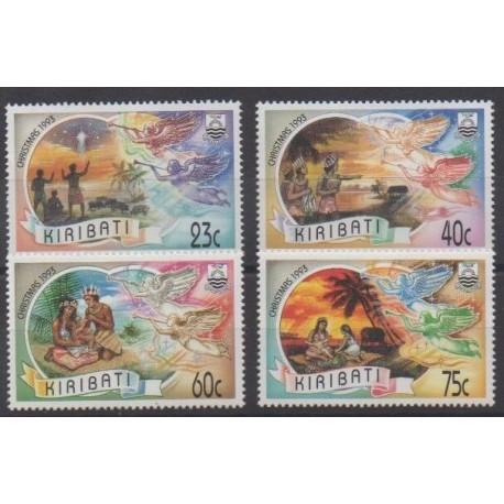 Kiribati - 1993 - No 302/305 - Noël