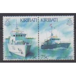 Kiribati - 1995 - Nb 369/370 - Boats