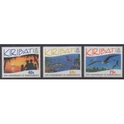 Kiribati - 1994 - Nb 320/322 - Various Historics Themes