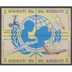 Kiribati - 1996 - Nb 375/378 - Health