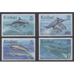 Kiribati - 1996 - Nb 371/374 - Sea life - Mamals