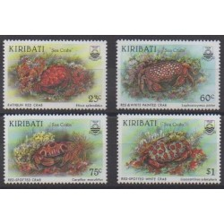 Kiribati - 1996 - Nb 379/382 - Sea life