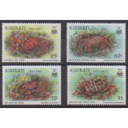 Kiribati - 1996 - No 379/382 - Vie marine