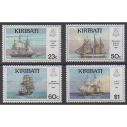 Kiribati - 1996 - Nb 383/386 - Boats