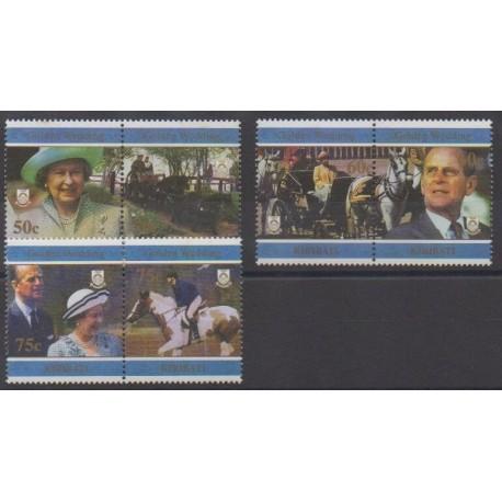 Kiribati - 1997 - Nb 393/398 - Royalty