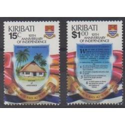Kiribati - 1989 - No 203/204 - Histoire