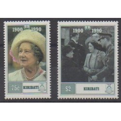 Kiribati - 1990 - Nb 232/233 - Royalty