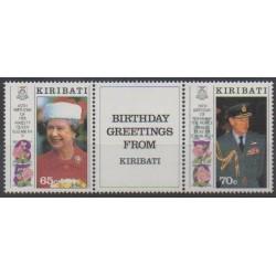 Kiribati - 1991 - No 243/244 - Royauté - Principauté