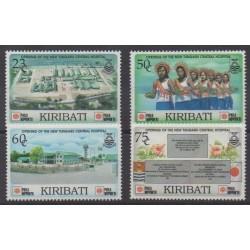 Kiribati - 1991 - No 245/248 - Santé ou Croix-Rouge - Philatélie