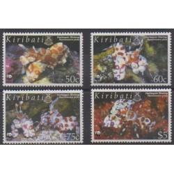 Kiribati - 2005 - Nb 591/594 - Sea life - Endangered species - WWF