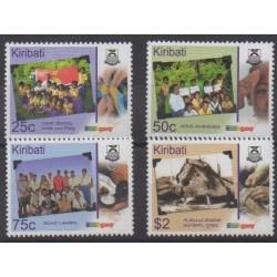 Kiribati - 2007 - Nb 633/636 - Scouts