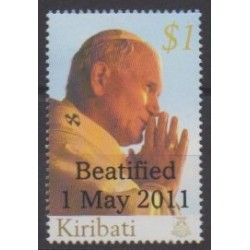 Kiribati - 2011 - Nb 706 - Pope