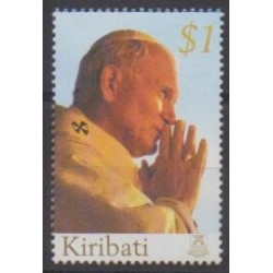 Kiribati - 2005 - Nb 587 - Pope