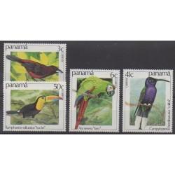 Panama - 1981 - No 899/902 - Oiseaux