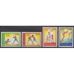 Panama - 1984 - No 948/951 - Jeux Olympiques d'été