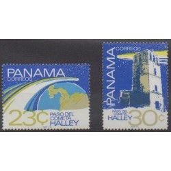 Panama - 1986 - Nb 992/993 - Astronomy
