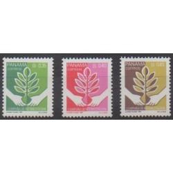 Panama - 1988 - No 1036/1038 - Environnement