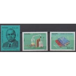 Panama - 1990 - No 1073/1075 - Sciences et Techniques