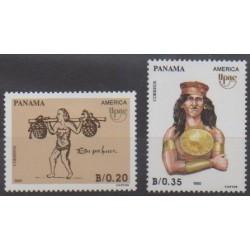 Panama - 1990 - Nb 1071/1072