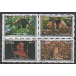 Panama - 1996 - No 1127/1130 - Mammifères