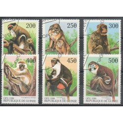 Guinea - 1998- Nb 1255u/1255z - Animals - Used