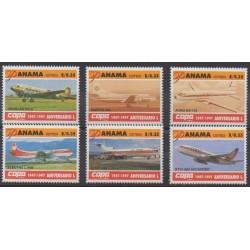 Panama - 1997 - No 1146/1151 - Aviation