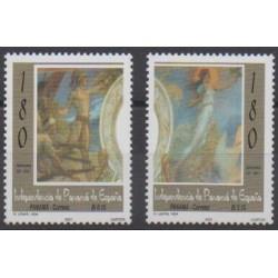 Panama - 2001 - No 1214/1215 - Peinture