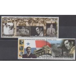 Panama - 2001 - No 1218/1221 - Célébrités