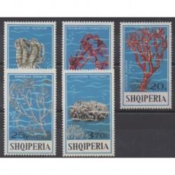 Albania - 1975 - Nb 1617/1621 - Sea life