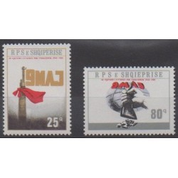 Albania - 1985 - Nb 2070/2071 - Second World War
