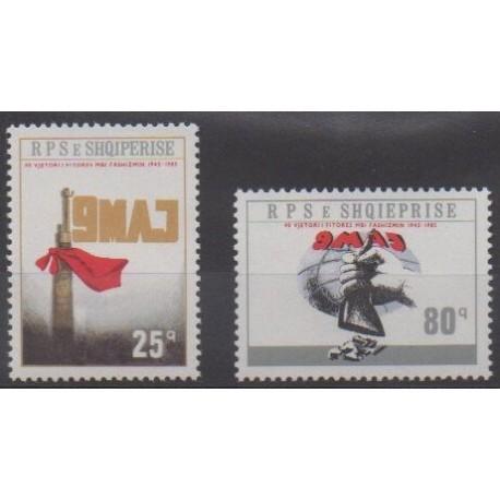 Albania - 1985 - Nb 2070/2071 - Second World War