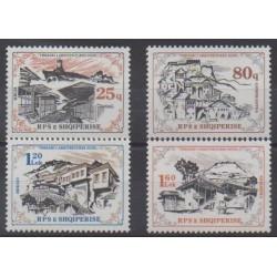 Albania - 1985 - Nb 2084/2087 - Architecture
