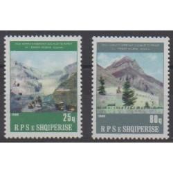 Albanie - 1986 - No 2094/2095 - Peinture