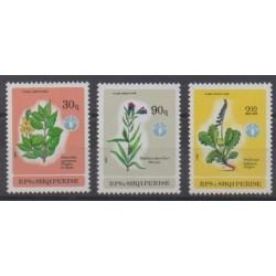 Albania - 1987 - Nb 2140/2142 - Flowers