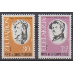 Albanie - 1988 - No 3159/3160 - Célébrités - Art