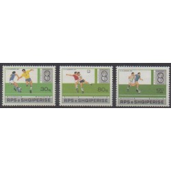 Albania - 1988 - Nb 2167/2169 - Football